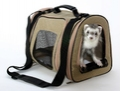 transportin pet tote huron